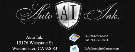 AutoInk Garage Homepage