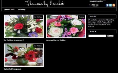 Flowers by Scarlet Homepage