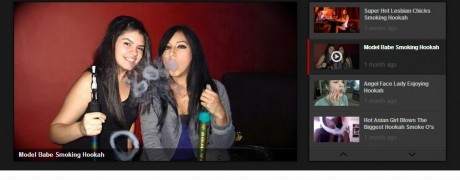 Hot Hookah Girls Homepage