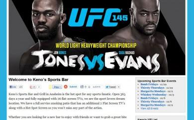 Keno's Sports Bar Homepage