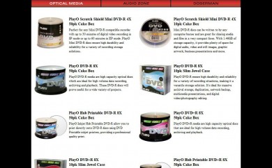 PiData PlayO Product Listing