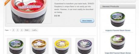 Shiazo E-Commerce Product Listing