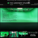 The Greenery Studio Homepage