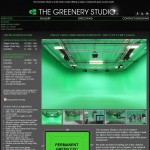 The Greenery Studio Green Screen Page