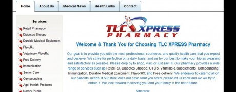 TLC Xpress Homepage